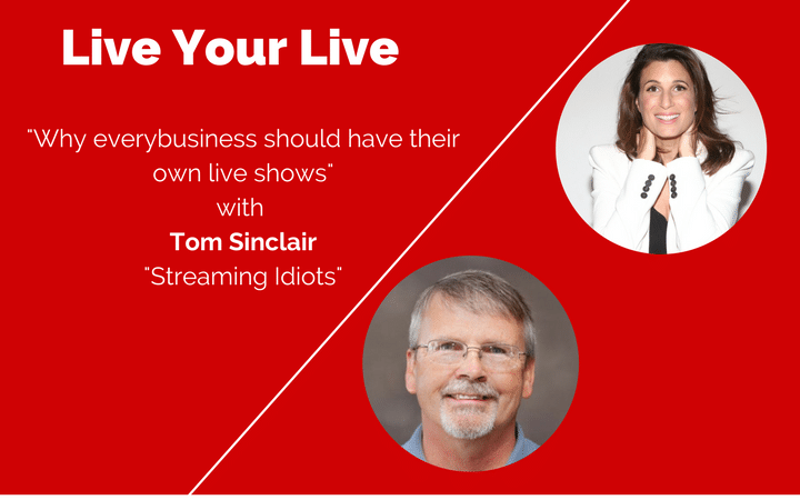 Tom Sinclair, expert du live streaming aux Etats-Unis sur Daar Communication